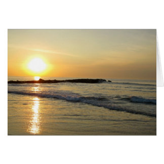 Sunrise on the Jersey Shore Card