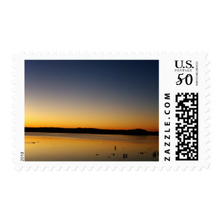 Sunrise on The Lake Postage