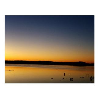 Sunrise on The Lake Postcard