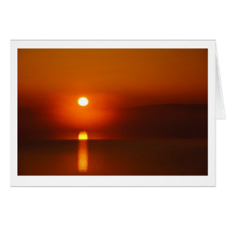 Sunrise on the Potomac Note Card