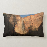 Sunrise on the Riverside Walk at Zion Park Throw Pillow