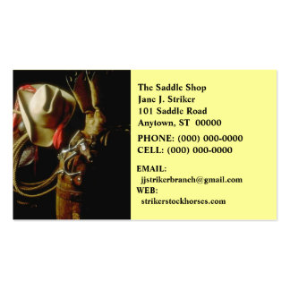 SUNRISE ON WESTERN GEAR BUSINESS CARDS COWBOY HAT