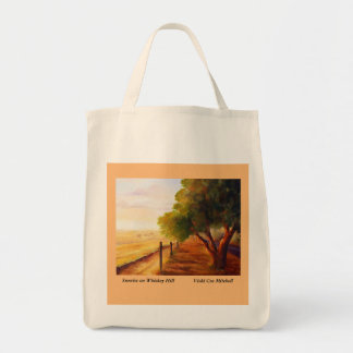 Sunrise on Whiskey Hill Canvas Grocery Bag