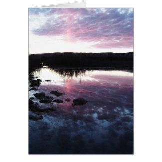 Sunrise or Sunset? Card