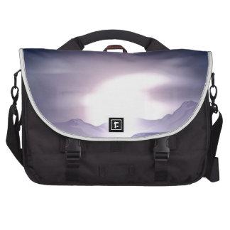 Sunrise or sunset concept commuter bag
