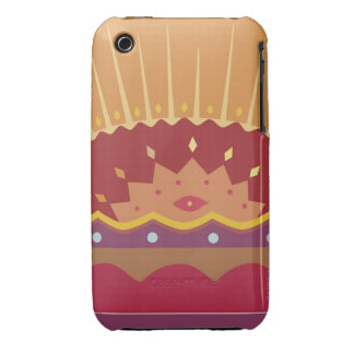 Sunrise over a mountain on a Traditional iPhone 3 Case-Mate Case