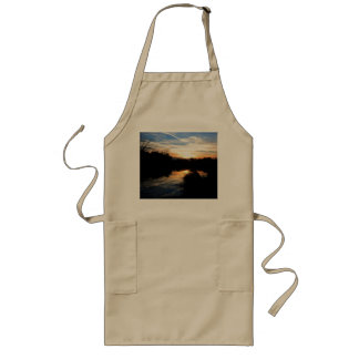 Sunrise Over a River Long Apron
