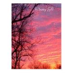 Sunrise over Albany GA Postcard