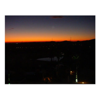 Sunrise over Almeria Spain Postcard
