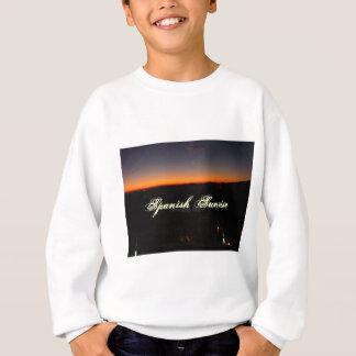 Sunrise over Almeria Spain Sweatshirt