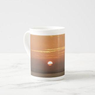 Sunrise over Aruba I Caribbean Seascape Tea Cup