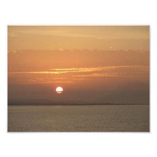 Sunrise over Aruba Photo Print