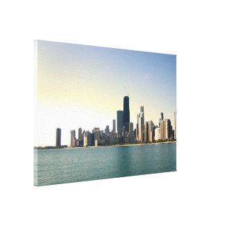Sunrise Over Chicago Canvas Print