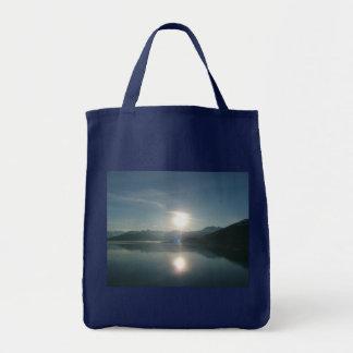 Sunrise over College Fjord Alaska Photography Tote Bag
