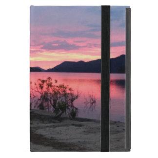 Sunrise over Greer's Ferry Lake Mini iPad Case