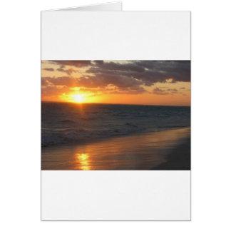 Sunrise over Horizon Greeting Card