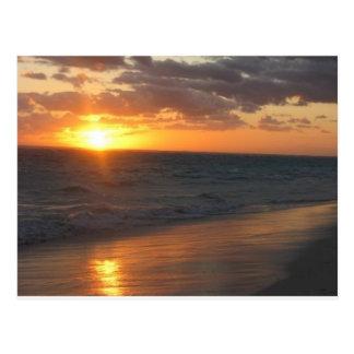 Sunrise over Horizon Postcard