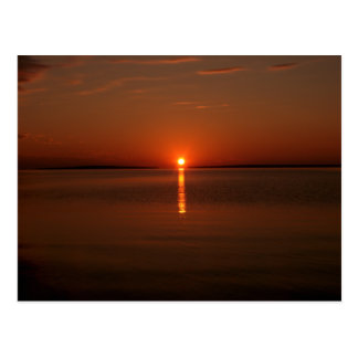 Sunrise Over Lake Huron Post Cards