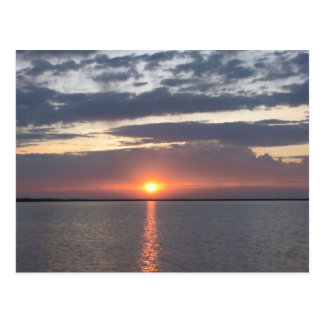 Sunrise Over Lake Postcard