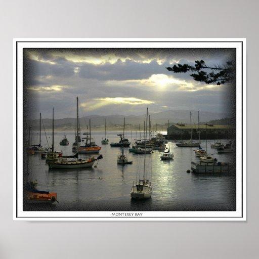 Sunrise Over Monterey Bay Print