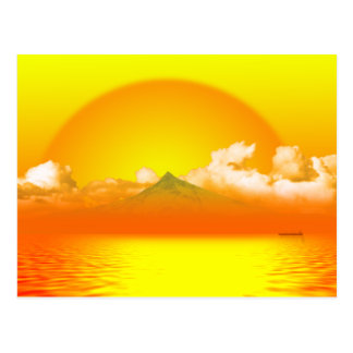 Sunrise over Mt Hood Post Card