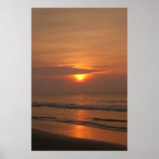 Sunrise Over Myrtle #1 Poster