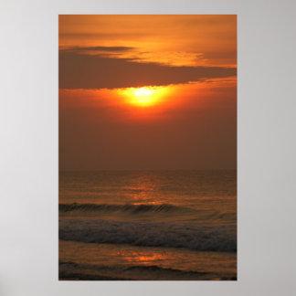 Sunrise Over Myrtle #3 Poster