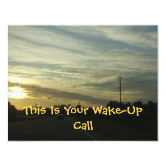 Sunrise Over North Carolina Card