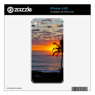 Sunrise over Ocean Decals For The iPhone 4