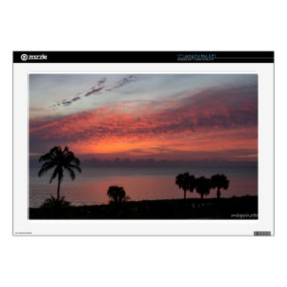 Sunrise over Ocean Laptop Skins