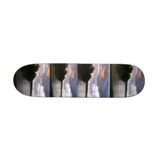 Sunrise Over Ohio Skateboard Deck