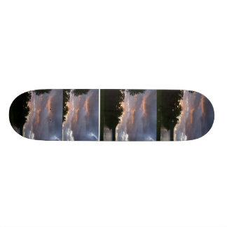 Sunrise Over Point Park Skateboard Deck