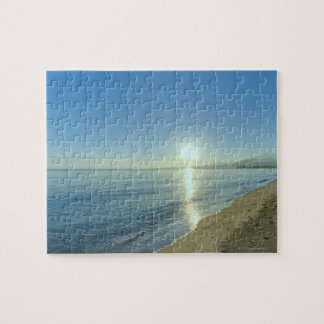 Sunrise over Pristine Tropical Beach Puzzle