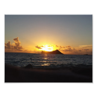 Sunrise over Rabbit Island Photo Print