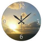 Sunrise over San Juan II Puerto Rico Large Clock