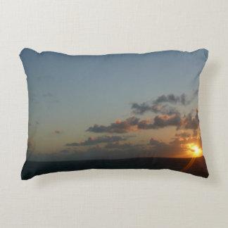 Sunrise over San Juan Accent Pillow
