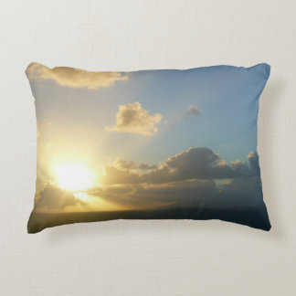 Sunrise over San Juan Puerto Rico Accent Pillow