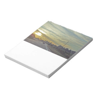 Sunrise Over Scenic Road in North Carolina Notepad