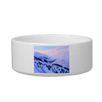 Sunrise over Snowy Mountains Bowl