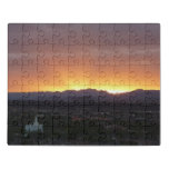 Sunrise over St. George Utah Landscape Jigsaw Puzzle