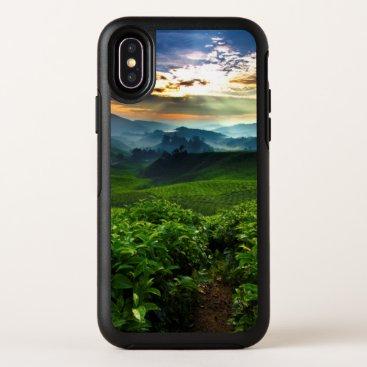 Sunrise over Tea Farm OtterBox Symmetry iPhone X Case