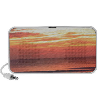 Sunrise over the Atlantic Laptop Speakers