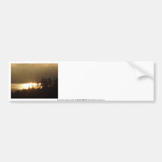 Sunrise Over the Columbia River #4 Bumper Sticker