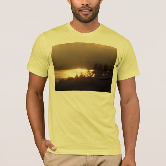 Sunrise Over the Columbia River #4 T-Shirt