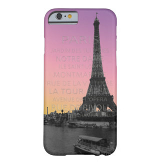 Sunrise Over the Eiffel Tower in Paris Barely There iPhone 6 Case
