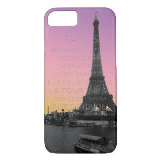 Sunrise Over the Eiffel Tower in Paris iPhone 8/7 Case