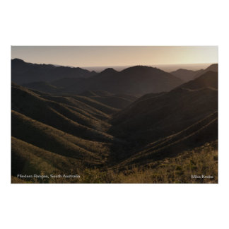 Sunrise Over the Flinders Ranges Posters