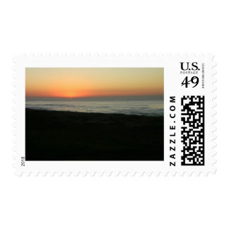 Sunrise over the Indian Ocean Postage Stamp