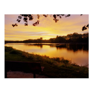 Sunrise over the Maumme river Postcard