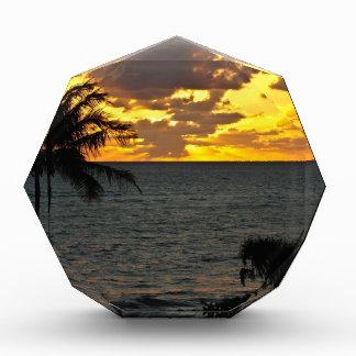 Sunrise over the Ocean Acrylic Award